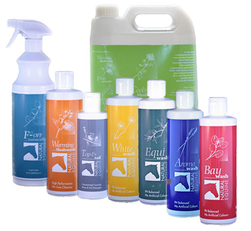 Various Natural Equine Products