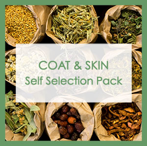 Coat & Skin Self Selection Pack label