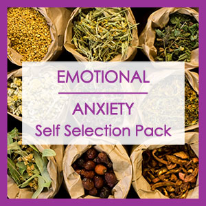 EMOTIONAL/ANXIETY HERB SELF SELECTION PACK