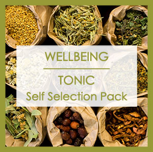 WELLBEING/TONIC SELF SELECTION PACK