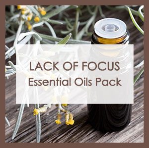 Lack of focus essential oil pack