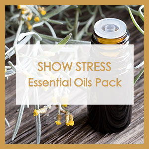 Show stress essential oils pack