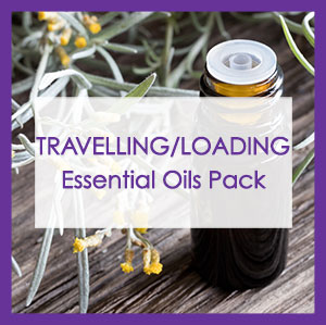 Travelling/loading essential oils
