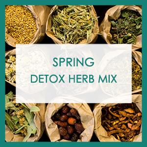 Spring detox herb mix